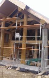 výstavba chaty Donovaly